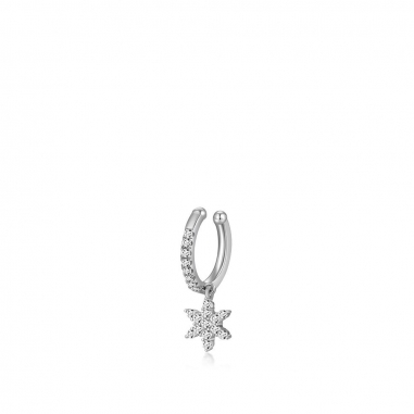 AGATHA璦嘉莎 Snowflakes雪花單耳扣