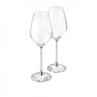 Swarovski施華洛世奇 Crystalline酒杯 (一對)