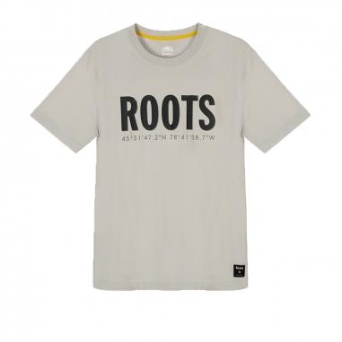 RootsRoots AUG-RECONNECT ELEVATION男性T恤