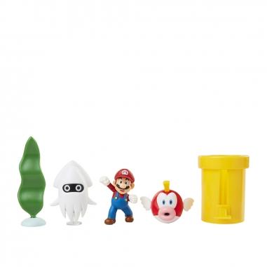 Nintendo任天堂 超級瑪利歐 2.5吋模型公仔5入組(多款可選)