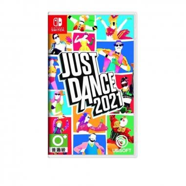 Nintendo任天堂 NS SWITCH遊戲《舞力全開  Just Dance 2021》中文版