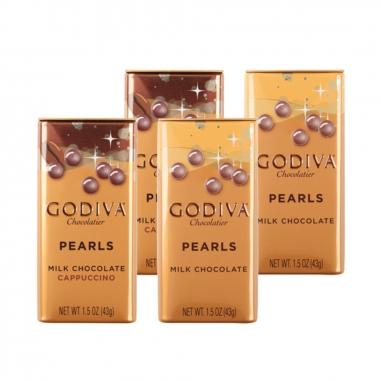 GodivaGodiva Godiva 綜合巧克力豆4入(牛奶+卡布奇諾)