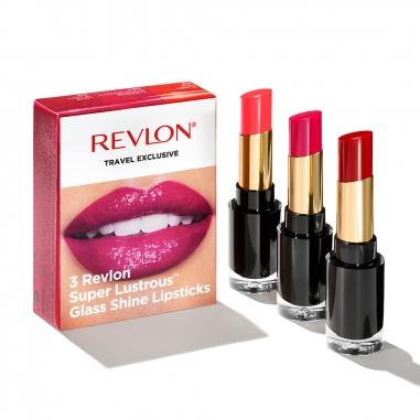 Revlon露華濃 玻璃鏡面光采水潤唇膏特惠組