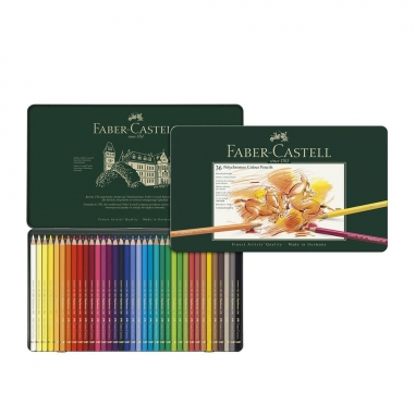 Faber-Castell輝柏 專家級油性色鉛筆(24/36/60/120色)