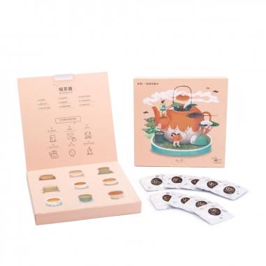 Ateliea Tea不二堂 啜茶趣-焙茶知味(9入茶包)