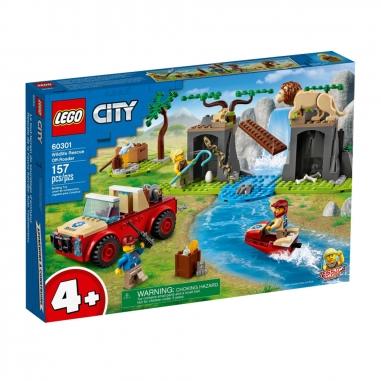 LEGO樂高 LEGO 60301 城市系列 野生動物救援越野車