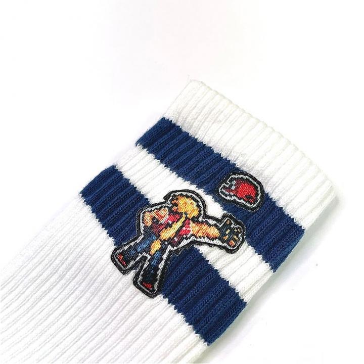 SNK&EGG成人條紋襪-KOF格鬥天王系列(多款可選)
