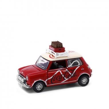 TINY微影 1/50 合金車-Mini Cooper Mk1 可口可樂車(香港)
