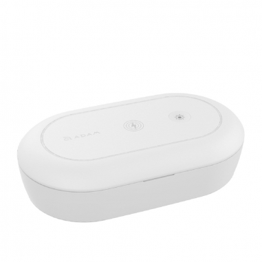 ADAM亞果 OMNIA  UVC⁺ 臭氧紫外線殺菌無線充電盒