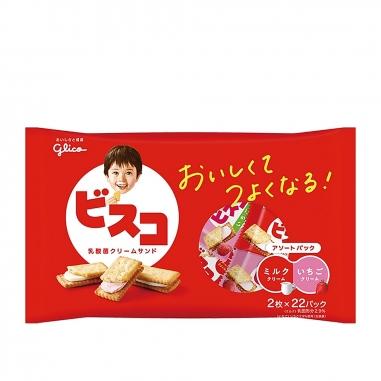 Glico固力果 Bisco夾心餅乾(多款可選)