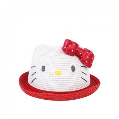 Sanrio三麗鷗 HELLO KITTY可愛造型遮陽帽