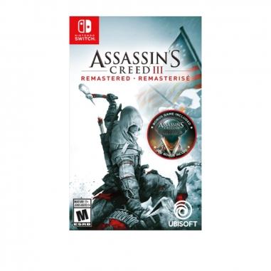 Nintendo任天堂 NS遊戲《刺客教條 3 重製版》中英日美版