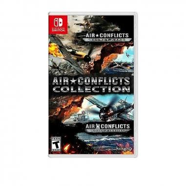 Nintendo任天堂 NS遊戲《藍天對決合輯Air Conflicts Collection》英文美版