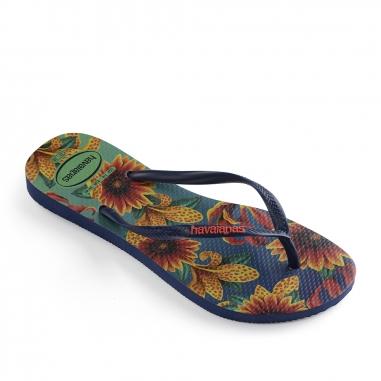 Havaianas哈瓦仕 SLIM FLORAL休閒拖鞋