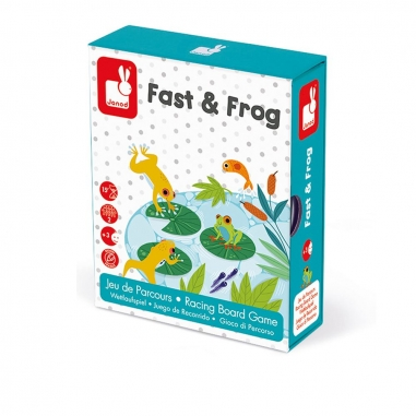 JanodJanod 趣味桌遊-蛙蛙競速