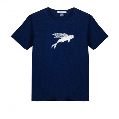 WasangShow花生騷 飛魚丹寧 T-Shirt中性款