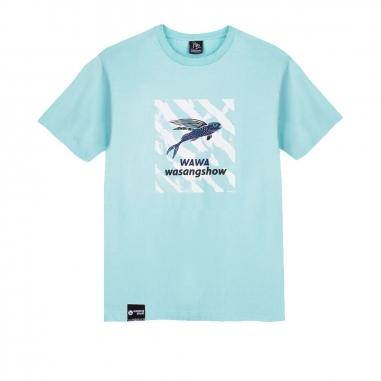 WasangShow花生騷 飛魚浪潮 T-Shirt中性款
