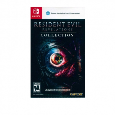 Nintendo任天堂 NS遊戲《惡靈古堡啟示錄1+2合輯》中英日