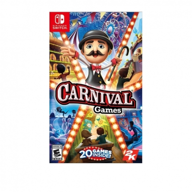 Nintendo任天堂 NS遊戲《體感嘉年華》中英文