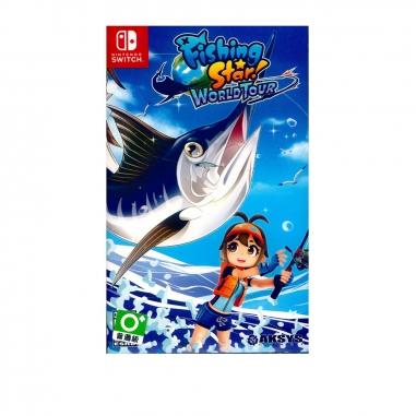 Nintendo任天堂 NS遊戲《釣魚明星 世界巡迴賽》中英日文