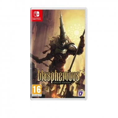 Nintendo任天堂 NS遊戲《褻瀆神明》簡中英文版