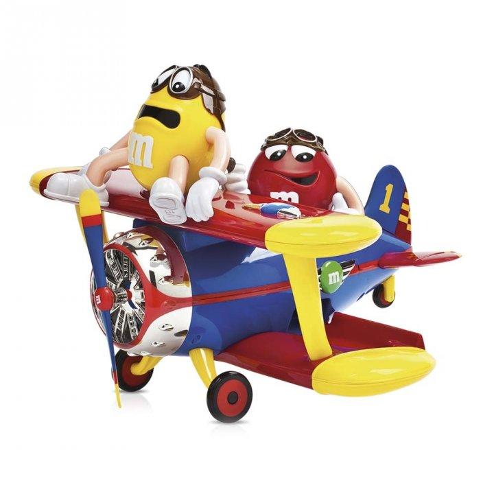 Mars瑪氏 飛機造型玩具