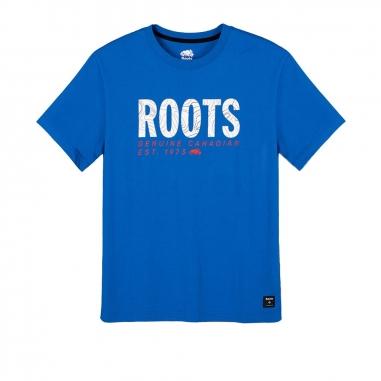 RootsRoots AUG- TRAIL BLAZER男性T恤