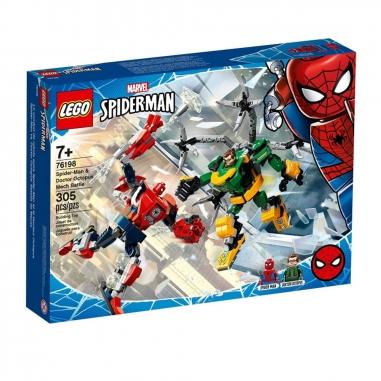 LEGO樂高 LEGO 76198 超級英雄系列 蜘蛛人章魚醫生大戰