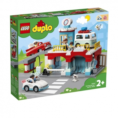 LEGO樂高 LEGO 10948 得寶系列 立體停車場洗車店
