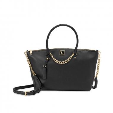 Victoria's Secret維多利亞的秘密 黑色女士大容量手提包