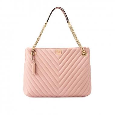 Victoria's Secret維多利亞的秘密 粉色手提包