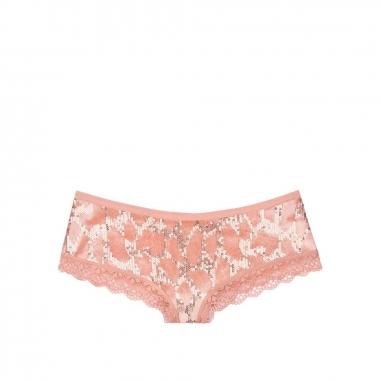 Victoria's Secret維多利亞的秘密 亮片豹紋半包臀內褲