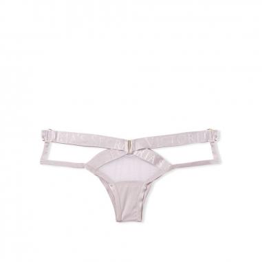 Victoria's Secret維多利亞的秘密 鏤空性感Logo字母腰帶內褲