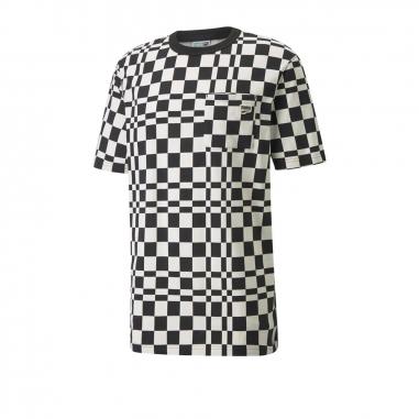 PUMAPUMA Downtown格紋短袖T恤