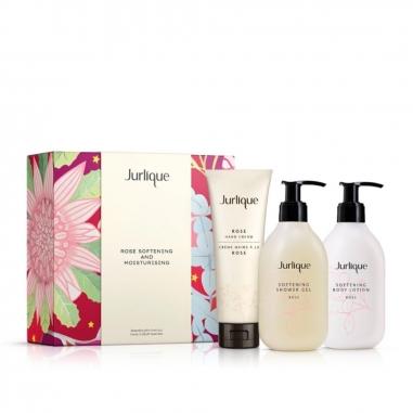 Jurlique茱莉蔻 《聖誕限定》玫瑰柔膚身體修護花樣特惠組