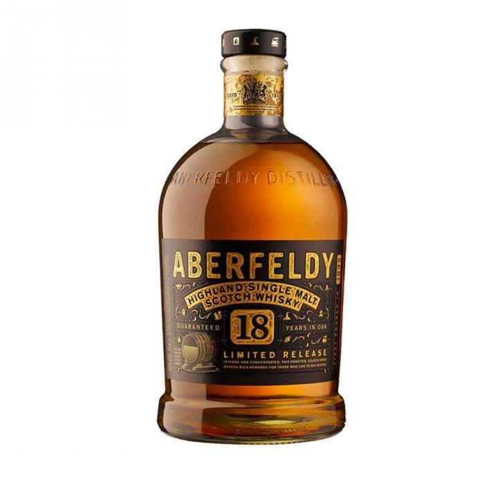 ABERFELDY艾柏迪 艾柏迪18年單ㄧ純麥威士忌