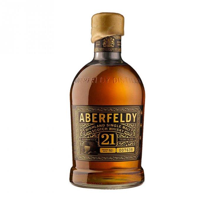 ABERFELDY艾柏迪 《送小酒》艾柏迪21年單ㄧ純麥威士忌
