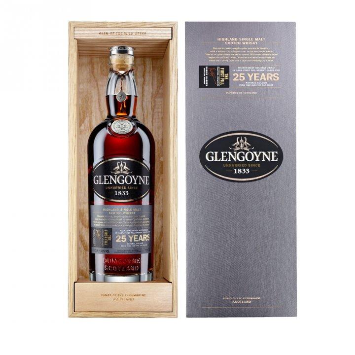 Glengoyne格蘭哥尼 格蘭哥尼25年單一純麥威士忌