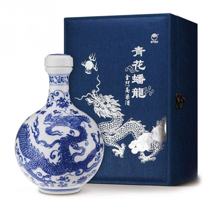 KINMEN KAOLIANG金門酒廠 58度青花蟠龍酒
