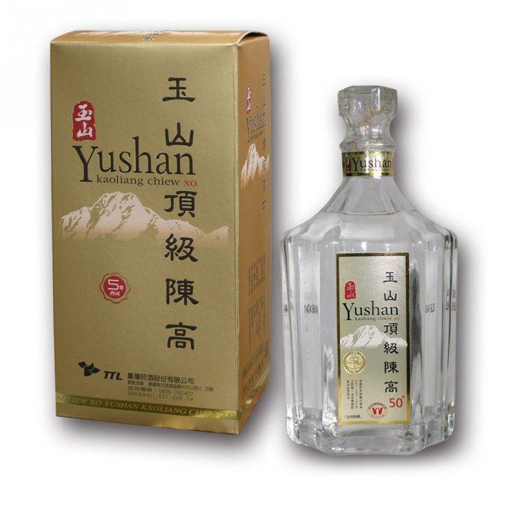 Taiwan Tobacco & Liquor 台灣菸酒 《滿額送玉泉小酒》玉山頂級陳年高粱酒