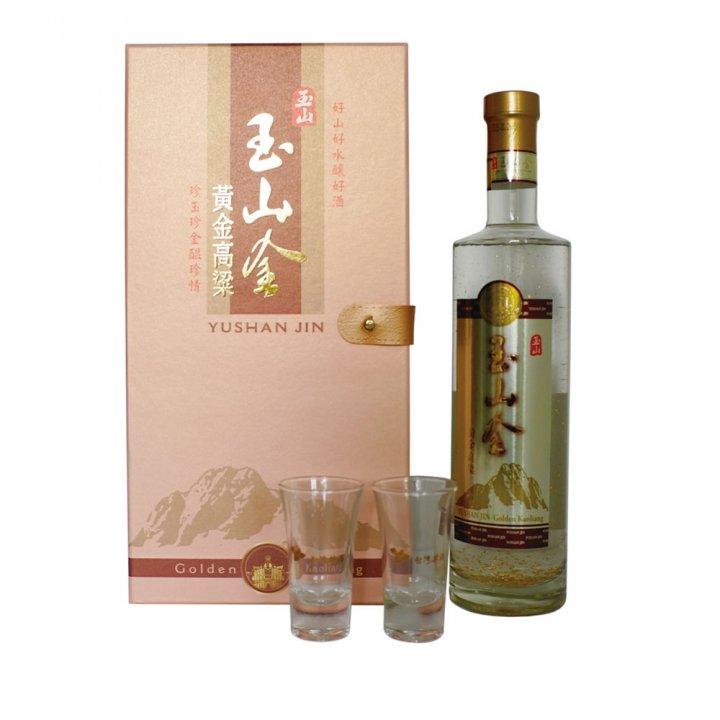 Taiwan Tobacco & Liquor 台灣菸酒 《滿額送玉泉小酒》玉山金黃金高粱酒0.7L