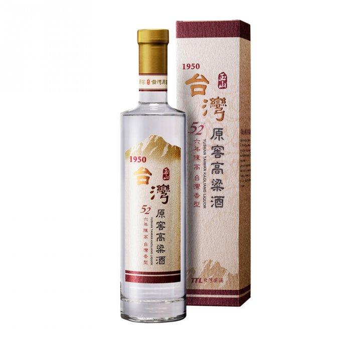 Taiwan Tobacco & Liquor 台灣菸酒 《滿額送玉泉小酒》玉山台灣原窖高粱6年陳高