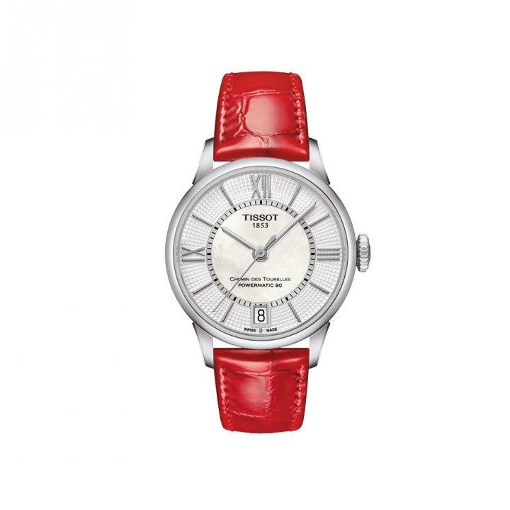 TISSOT天梭表 《明星款》耶誔浪漫 女腕錶
