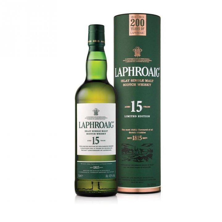Laphroaig拉弗格 《送旅行包》拉弗格15年威士忌