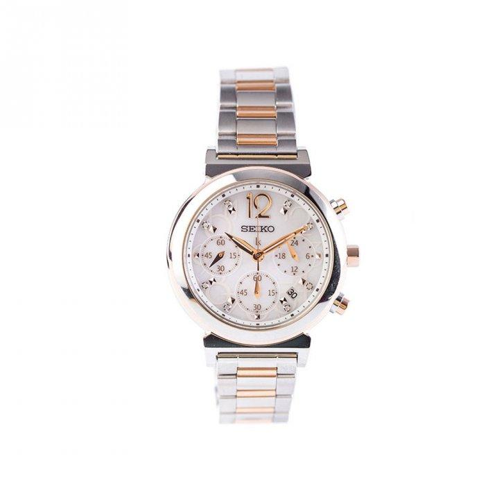 SEIKO精工 太陽能計時手錶