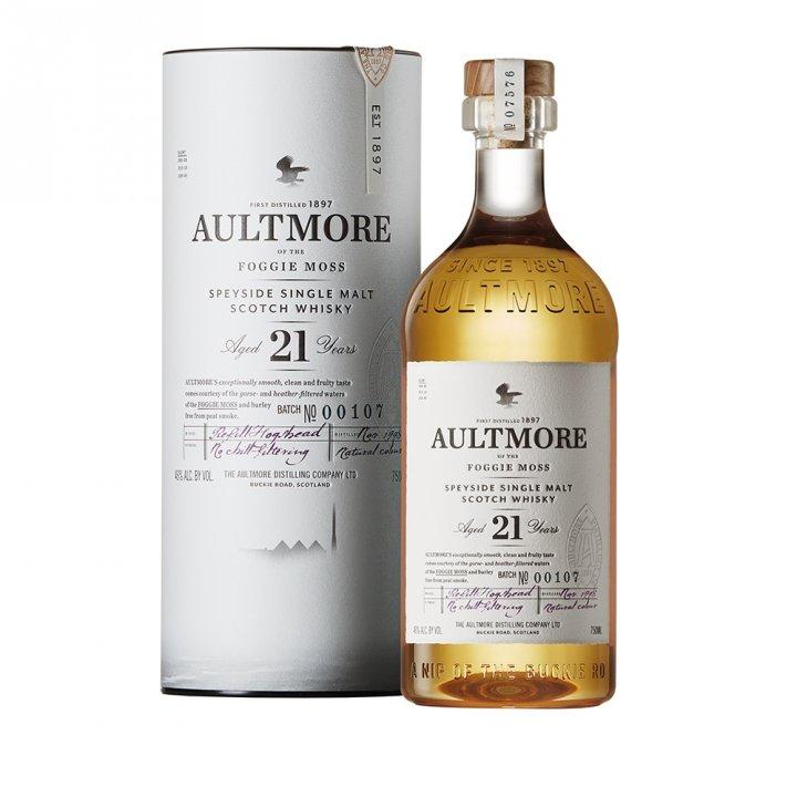 Aultmore雅墨 《送小酒》雅墨21年單ㄧ純麥威士忌