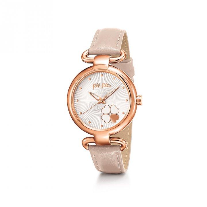 Folli Follie芙麗芙麗 Classy Heart4Heart 皮帶腕錶