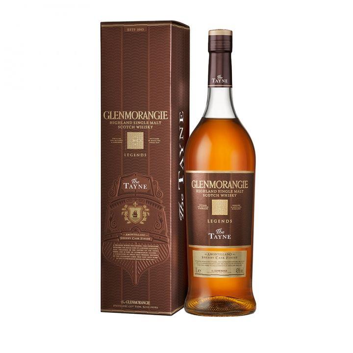 Glenmorangie格蘭傑 《同品項.滿2送旅行袋》格蘭傑坦恩單一麥芽威士忌