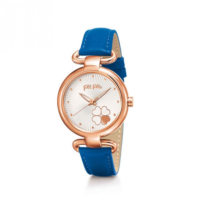 Folli Follie芙麗芙麗 Heart 4 Heart- Classy皮帶腕錶