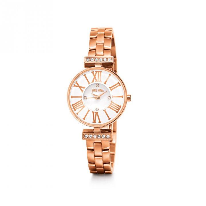Folli Follie芙麗芙麗 Dynasty不鏽鋼腕錶
